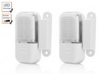 SET: 2 LED Schubladenleuchten (batteriebetrieben) mit Magnetschalter 0, 16W