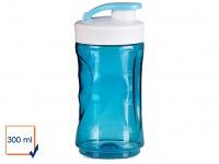Ersatzbehälter / Trinkflasche für Smoothie Maker Mixer 300ml, blau, DOMO