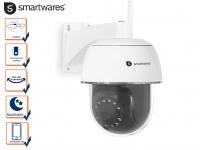 IP Outdoor Kamera Domekamera mit Nachtsicht und Bewegungssensor, App Steuerung