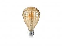 Dekoratives LED Leuchtmittel mit E27 Fassung, 4W & 320Lm warmweiß, tropfenförmig