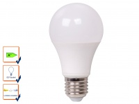 LED Leuchtmittel 9 Watt, 806 Lumen, E27-Sockel, 3 Weiß-Stufen wählbar, XQ-lite