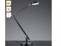 LED-Schreibtischleuchte / Schreibtischlampe in schwarz AMSTERDAM, Trio