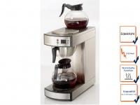 Gastro Filterkaffeemaschine ca 100 Tassen/Std. 2 Glaskannen, Profi Kaffeeautomat