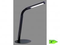 LED Tischleuchte schwarz, Flexgelenk, inkl. 1x3W LED, 300 Lumen TRIO