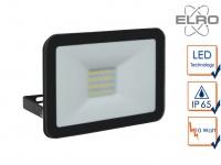 Strahler schwarz Baustrahler 10W LED 5000K Scheinwerfer Arbeitslampe Fluter