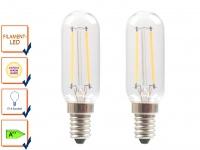 2er-Set FILAMENT-LED E14, 2 Watt, 200 Lumen, 2700 Kelvin, warmweiß