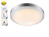 Globo LED Außenleuchte JOHN mit Bewegungsmelder, Deckenlampe Wandleuchte außen