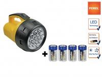 Leistungsstarker LED Handscheinwerfer wetterfeste Arbeitsleuchte, Outdoor