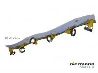Strahlerleiste XXL 115 cm 6 Spots schwenkbar Beleuchtung Kinderzimmer Strahler