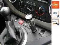 LED Taschenlampe wiederaufladbar für 12V Zigarettenanzünder, Handlampe Auto