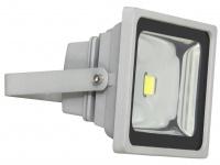 SMD-LED Fluter 30W, 1800 lm in kaltweiß, IP65, alugrau Ranex
