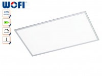 Dimmbare LED Deckenlampe 60x120 cm, Fernbedienung, Wofi-Leuchten