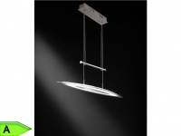 Höhenverstellbare, dimmbare LED-Hängeleuchte, Wofi-Leuchten