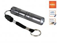 0, 5W LED Taschenlampe ultra bright mit Schlüsselanhänger und Handschlaufe