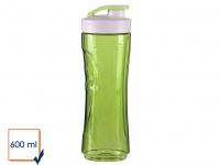 DOMO Ersatzbehälter Ersatzflasche für Smoothie Maker Mixer DO436BL 600ml grün