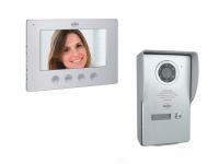 Video Türsprechanlage mit Monitor & Kamera 4-Draht Klingelanlage Einfamilienhaus