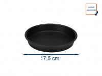 Pizza-Pfanne Ø 17, 5 cm, Zubehör für Heißluftfritteuse Digital Aerofryer 182021