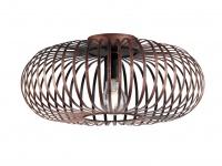 Moderne Deckenleuchte - Wohnzimmerlampe & Schlafzimmerlampe, Antik Look Kupfer