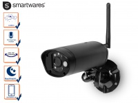 IP Kamera Outdoor, Überwachungskamera mit Nachtsicht, Videokamera Smartphone App