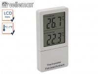 Digital Thermometer Raumthermometer Temperaturkontrolle Wasser, Zubehör Aquarium