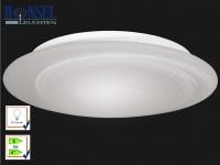 Deckenleuchte / Badleuchte Alba, IP44, Opalglas, Ø 40 cm, Honsel-Leuchten