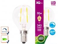 XQ-Lite Filament LED Leuchtmittel Globe E14, 4W, 345 Lumen, dimmbar, 2700 Kelvin