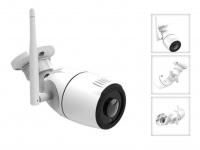 Outdoor IP Kamera 180° mit Nachtsicht, Überwachungskamera mit Aufzeichung App