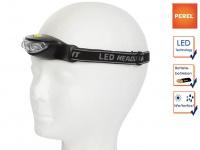 LED Stirnlampe extra hell 3 LEDs für Wandern, Trekking, Camping, Jagd & Outdoor