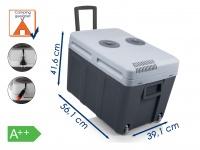 Thermoelektrische 40L Kühlbox Warmhaltebox 12V/230V für Camping Auto Thermobox