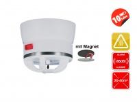 Mini Hitzemelder CAVIUS Brandmelder inkl. Magnethalter, 85dB