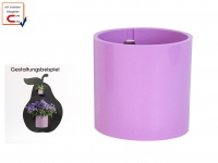 Kunststofftopf mit Magnet Ø 10 cm, Pink, Wandaufbewahrung Wanddeko, KalaMitica