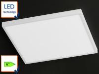 LED Deckenleuchte Deckenlampe weiß, 60x60cm, Design modern, Lampe Decke, Honsel