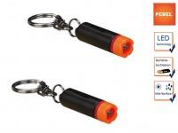 2er Set wasserfeste Mini LED Taschenlampe mit Schlüsselanhänger, Outdoor Lampe