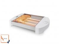 Praktischer Flachtoaster Timer 400W Toaster Tischröster Brötchenröster