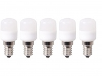 5er-Set LED-Leuchtmittel 2, 5W E14 Mini Nachtlicht/Kühlschrank/Dunstab
