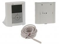 Vitalheizung Set: Thermostat / Funk Raumthermostat, Empfänger, Fußbodenfühler