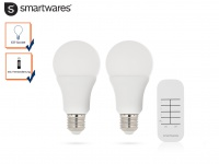 2 Stk. E27 LED Leuchtmittel mit Fernbedienung, Glühbirne Beleuchtung Wohnraum