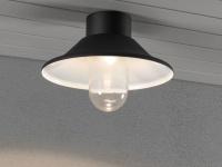 LED Deckenleuchte Außenleuchte Deckenlampe IP44, austauschbare Module
