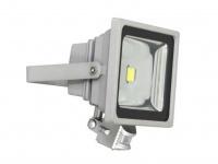 LED-Fluter, 30W, grau Bewegungsmelder kaltweiß Energiesparleuchte XQ-Lite