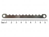 Edelstahlmesser zu Currywurst Schneider CWSH - Länge ca. 9, 4 cm Hand-Schneider