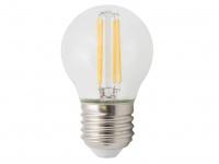FILAMENT-LED Globe E27, 4 Watt, 400 Lumen, 2700 Kelvin, warmweiß