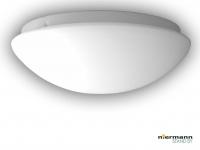 Deckenleuchte Deckenschale rund Opalglas matt Ø 35cm Küchenlampe Nurglasleuchte