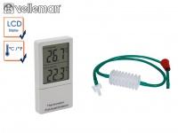 Aquaristik-Set: Umfüllpumpe mit Hahn und Rücklaufsicherung + Aquariumthermometer