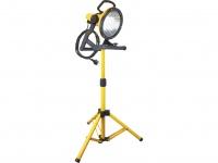 Energiespar-Strahler 32W (160W) mit Stativ, gelb, 5m Kabel