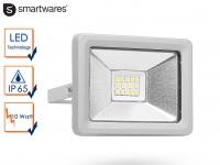 Strahler grau Baustrahler LED neutralweiß Scheinwerfer Arbeitsleuchte Flutlicht
