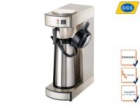 Gastro Kaffeemaschine Thermoskanne 140 Tassen/Std, Profi Filter Kaffeemaschine