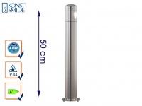 Massive Aluminium Sockelleuchte MONZA, 3 Watt High-Power-LED, IP44