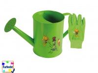 Gartenspielzeug -DIE BIENE MAJA- Gießkanne Gartenhandschuhe ab 7