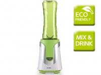 Smoothie Maker To Go Grün mit 2 Flaschen, Stand Mixer für Smoothies Blender