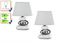 Tischleuchte Tischlampe Tischleuchten ROCCO TRES im 2er Set Honsel Leuchten